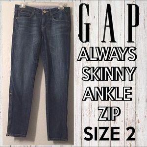 Always Skinny Ankle Zip Jeans